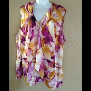 Jones of New York Floral Camisole Size 24